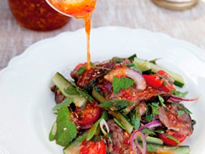Zesty Beef salad by Annabel Langbein