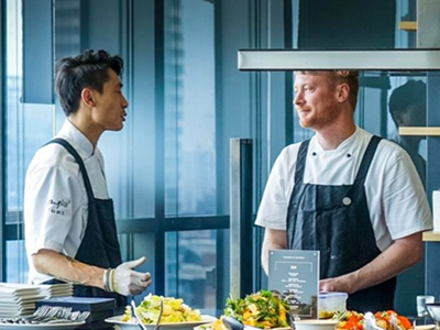 Luke & Fei team up for Fisher & Paykel event
