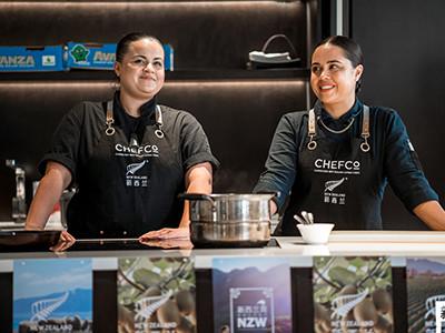 Kasey & Karena Chefco Workshop
